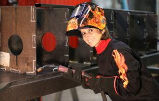 Participação feminina na indústria