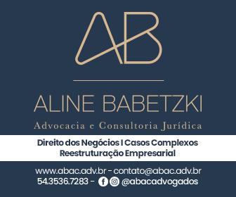 Aline Babetzki - Advocacia e Consultoria Jurídica. Direito dos Negócios | Casos Complexos | Reestruturação Empresarial.